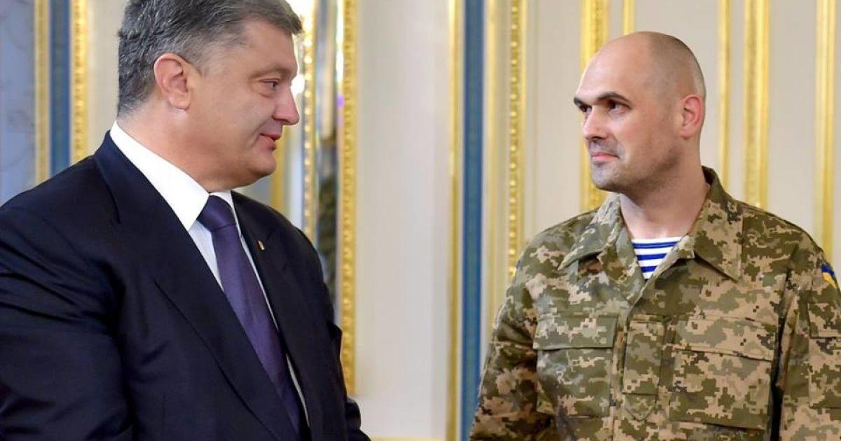 Порошенко и Кузьминых @ Офис Президента Украины