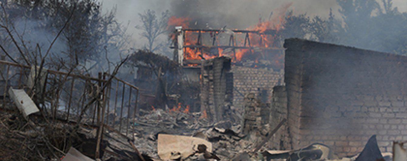 Масовані обстріли Станиці пов'язані із втратою прибутків Плотницьким – очільник Луганщини