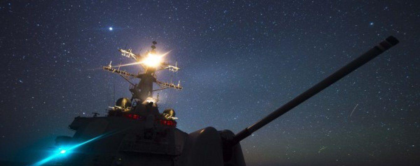 До Черного моря вошел эсминец, который в прошлом году нанес удар по Сирии