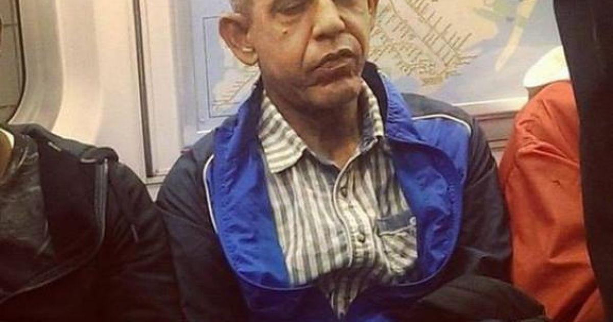 Человек, похожий на Обаму в старости. @ Еспресо.TV