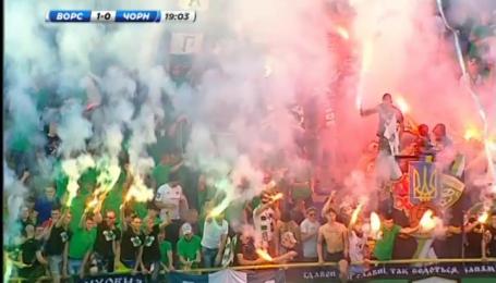 Ворскла - Черноморец - 2:0. Видео матча