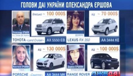 Бывший главный гаишник Украины ездит на Toyota Land Cruiser