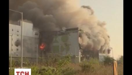 По меньшей мере один человек погиб в пожаре в Южной Корее