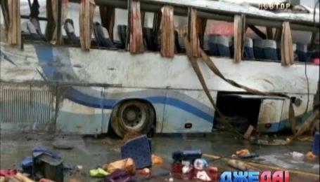 Из-за превышения скорости водитель автобуса убил семь пассажиров
