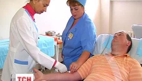 Забор донорской крови в Украине под угрозой