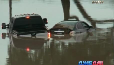 Юг США уходит под воду