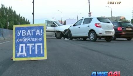 Лобовое столкновение произошло на проспекте Палладина в столице