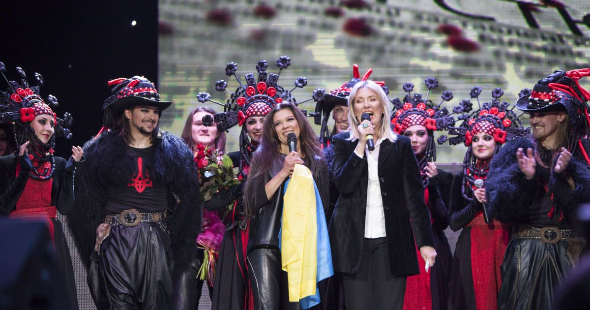 Руслана дала концерт у Львівському оперному театрі @ прес-служба Руслани