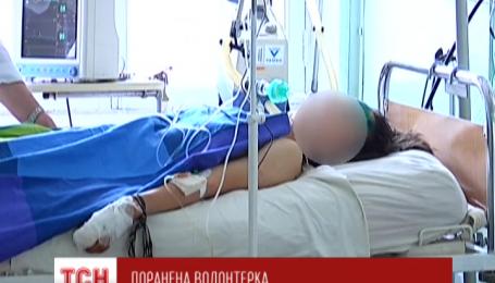 В Днепропетровск доставили раненого медика, медсестра-доброволец потеряла обе ноги