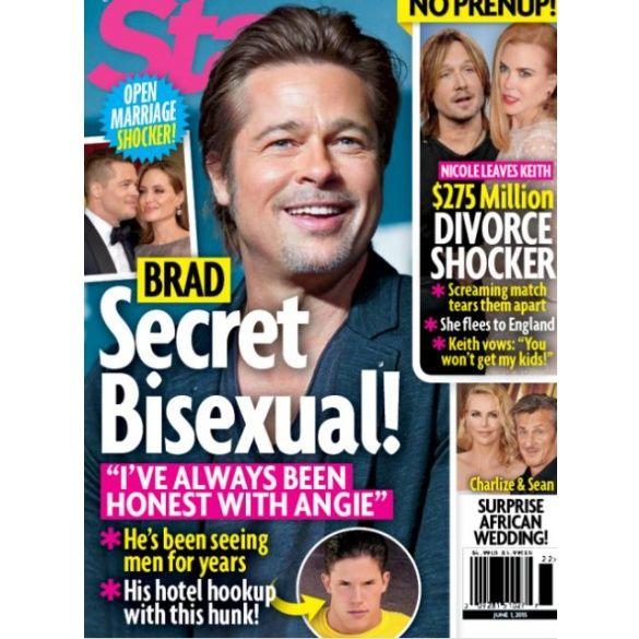 Бред питт бисексуал