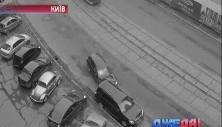Черный кот пытался перебежать дорогу, но колесо легковушки его остановило. Подборка ДТП
