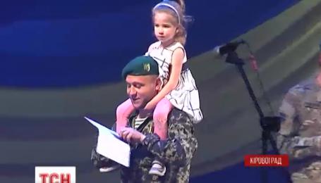 Саша Матвієнко сьогодні отримала зелений берет - символ прикордонних військ