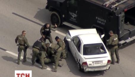 Американські поліцейські понад дві години переслідували злочинця