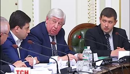 Регламентный комитет парламента второй день рассматривает представление ГПУ по Клюеву