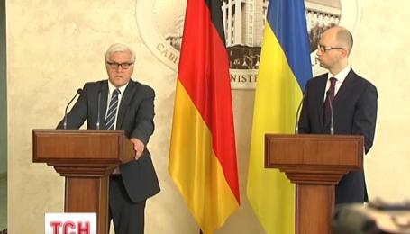 У Києві із візитом сьогодні перебуває міністр закордонних справ Німеччини Франк-Вальтер Штайнмаєр