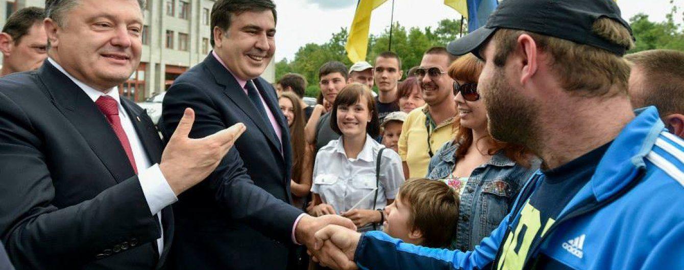 Порошенко: Деякі вирішили почати політичну активність в Україні після поразки в Грузії
