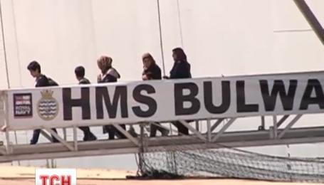 В Средиземном море продолжается спасение нелегальных мигрантов