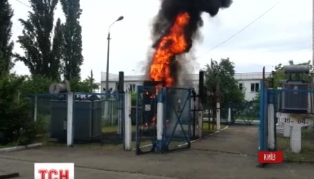 Пожежа поблизу ринку Петрівка минулася без руйнувань