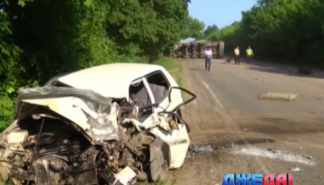 В Одесской области произошла тройная авария