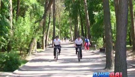 В Черновцах появился велопатруль
