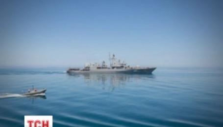 В Черном море проходят совместные военные учения Украины и США