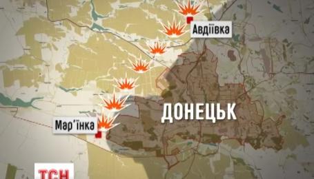 Найзапекліші протистояння на Донбасі тривають на околицях Донецька