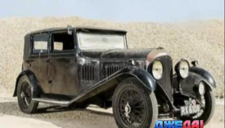 В Великобритании нашли раритетный Bentley в идеальном состоянии
