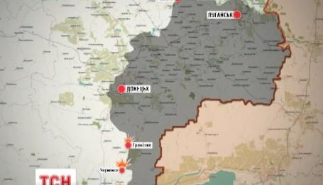 Из 120-миллиметровых минометов боевики обстреливали населенные пункты Черненко и Широкино