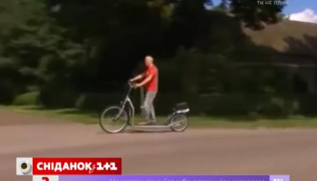 Голландский конструктор представил в сети велосипед-велодорожку