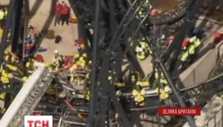 У Великобританії на американських гірках сталася аварія, четверо підлітків отримали травми