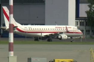 В Польше правительственный самолет с Сикорским на борту потерпел аварию