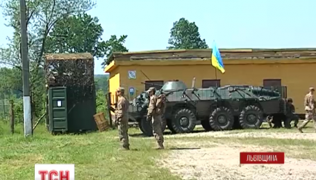 Півтора місяця на Яворівському полігоні тривають українсько-американські навчання