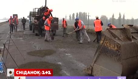 В Украине будут строить первую бетонную дорогу