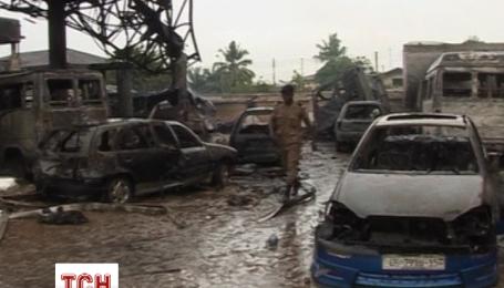 В Гані вибухнула автозаправка