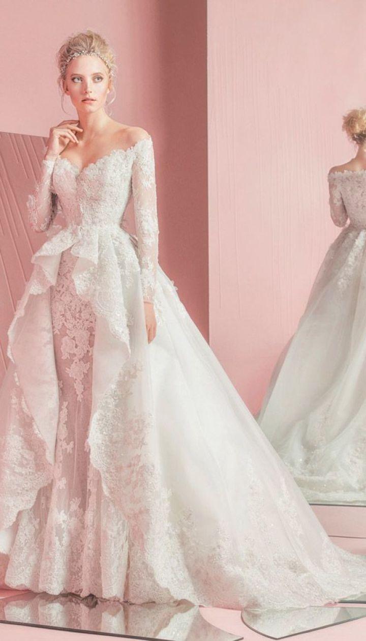 Лукбук свадебной коллекции Zuhair Murad