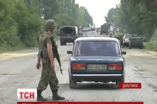 Военные в Марьинке называют конечной целью наступления террористов Курахово