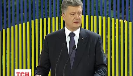 Петр Порошенко по случаю годовщины своего правления дал пресс-конференцию