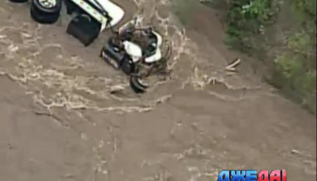 Дороги штата Миссури оказались под водой