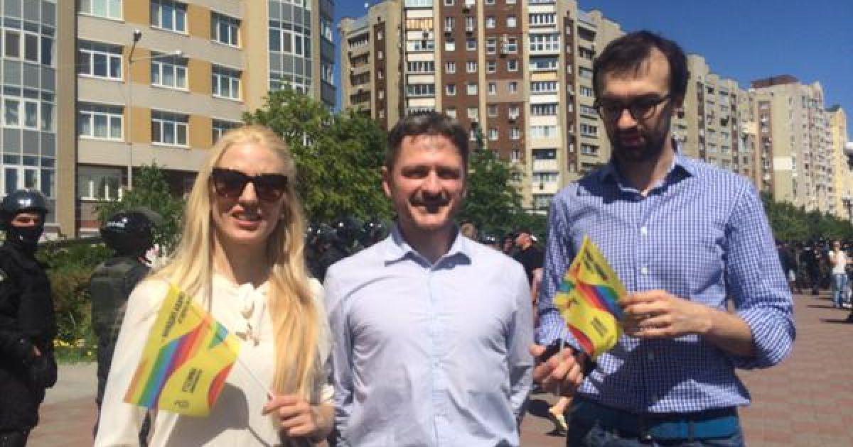 """Під час """"Маршу гідності"""" в Києві @ Громадське ТБ"""