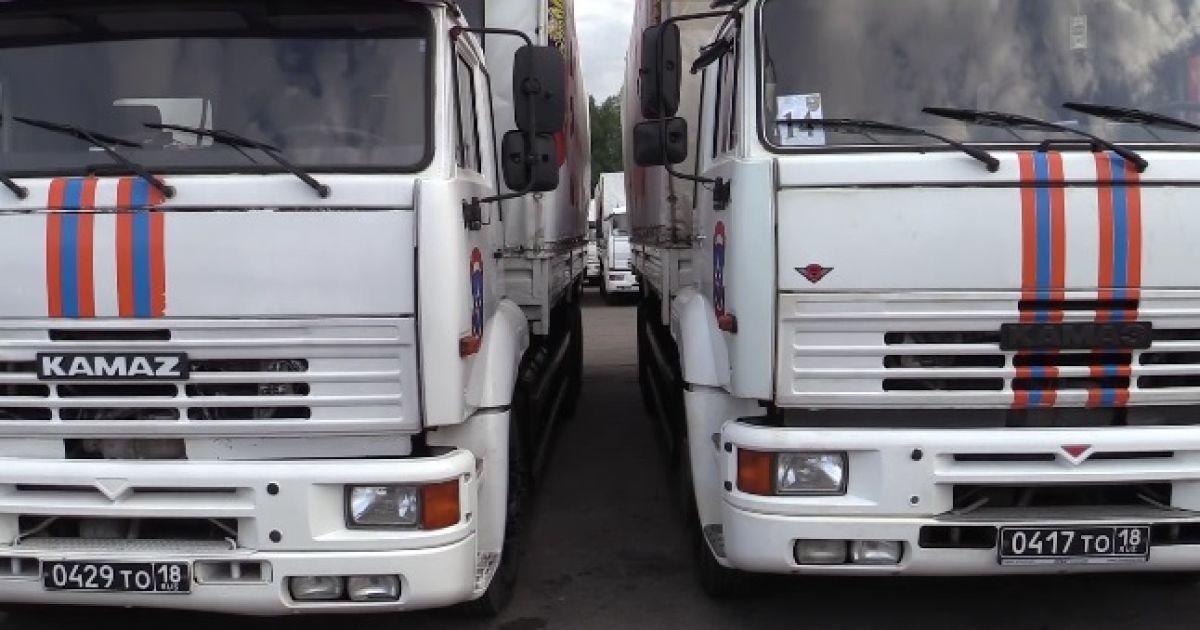 """В России предупредили, сколько """"гумконвоев"""" перебросят на Донбасс в августе"""