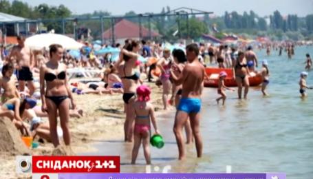 Одесские пляжи заполнены туристами