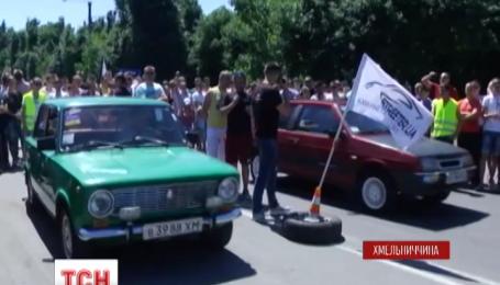 У Кам'янець-Подільському відбулися змагання з дрег-рейсінгу