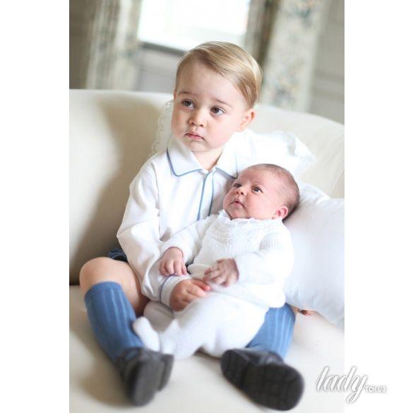 Принц Георг и принцесса Шарлотта _1