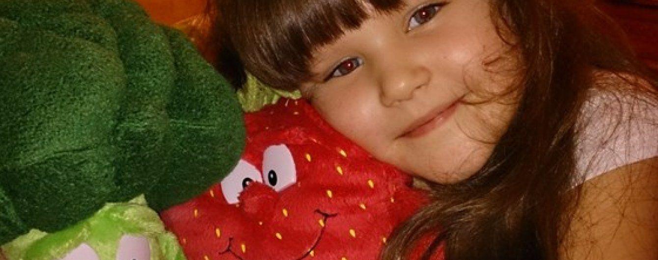 6-річна Настя потребує термінової допомоги