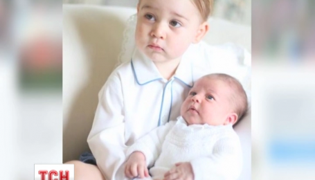 Кенсінгтонський палац опублікував перші спільні фото принца Джорджа та принцеси Шарлотти