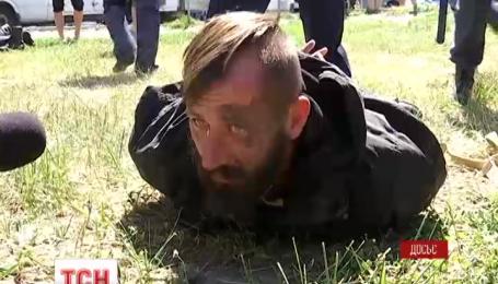 Суд арестовал на два месяца подозреваемого в нападении на милиционеров