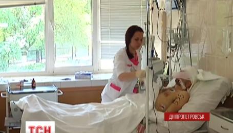 Четырех тяжелораненых бойцов отправили в Днепропетровскую областную больницу за последние дни