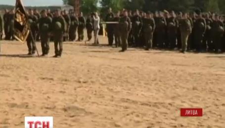 Военные тринадцати стран НАТО собрались в Литве на маневры