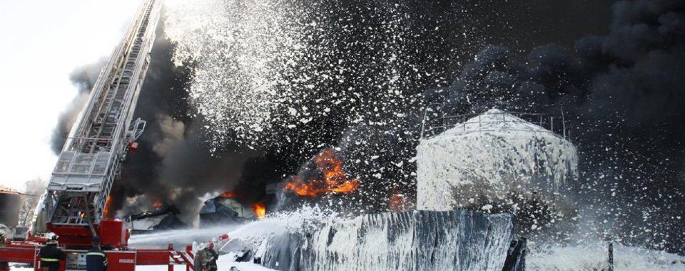 Глава ГСЧС рассказал последние подробности ликвидации пожара на нефтебазе под Васильковом