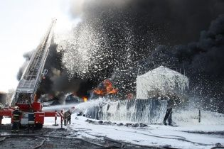 Очільник ДСНС розповів останні подробиці ліквідації пожежі на нафтобазі під Васильковом